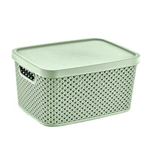 13 Litre Plastic Storage Diamond Box with Lid