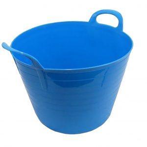 26 Litre Blue Plastic Flexi Tub
