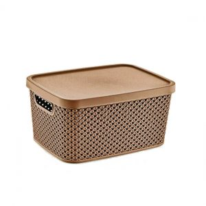 3.5 Litre Plastic Storage Diamond Box With Lid