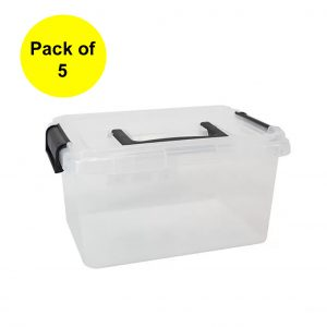 5 x 3.5 Litre Clip & Stack Container with Lid (Pack of 5)