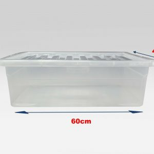 32 Litre Underbed with Clear Lid