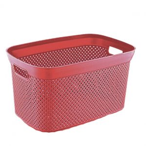 35 Litre Plastic Storage Basket Box