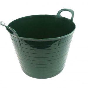 42 Litre Green Plastic Flexi Tub