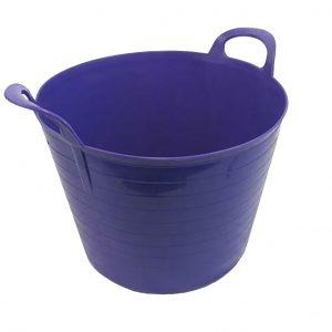 42 Litre Purple Plastic Flexi Tub