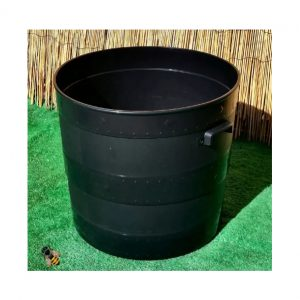 52cm Blacksmith Garden Planter Black