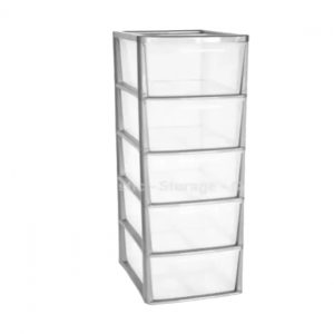 Platinum 5 Drawer Plastic A4+ Tower