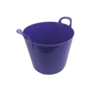 75 Litre Purple Plastic Flexi Tub