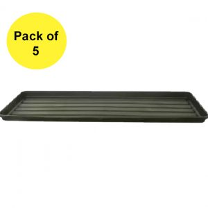 Black Grow Bag Tray (Pack of 5)
