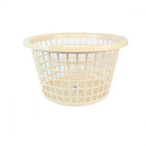 Oatmeal Round Laundry Basket