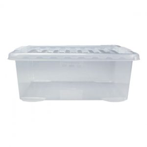 26 Litre Underbed Storage Box with Clear Lid