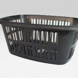 Black Rectangular Laundry Basket