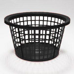 Black Round Laundry Basket