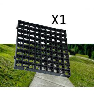 1 x Black Heavy Duty Plastic Grass Grids (0.25 Square Metres)