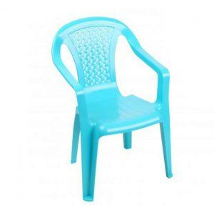 Plastic Children's Chair Blue