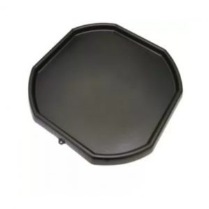 Large Black Plastic Mixing Tray