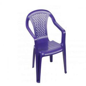 Plastic Children's Chair Purple