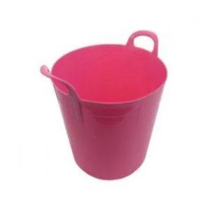 75 Litre Pink Plastic Flexi Tub