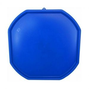 Large Blue Plastic Mixing Tray