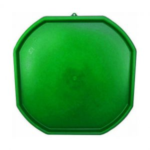 Large Dark Green Plastic Mixing Tray