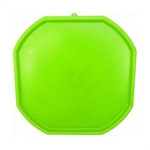 Large Light Green Plastic Mixing Tray