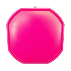 Large Pink Plastic Mixing Tray