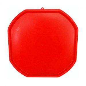 Large Red Plastic Mixing Tray