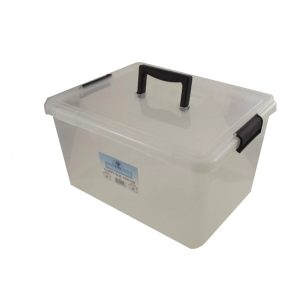 3 x 3.5 Litre Clip & Stack Container With Lid - (Pack of 3)