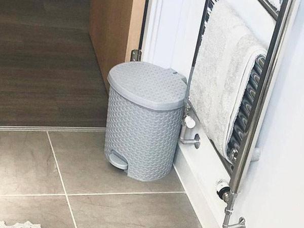 Plastic Bathroom Bins