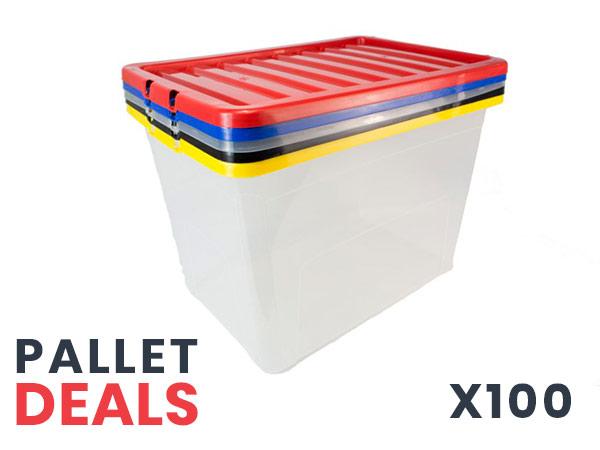 pallet plastic boxes