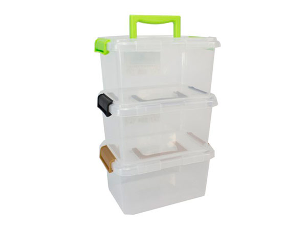 clip and handle plastic boxes