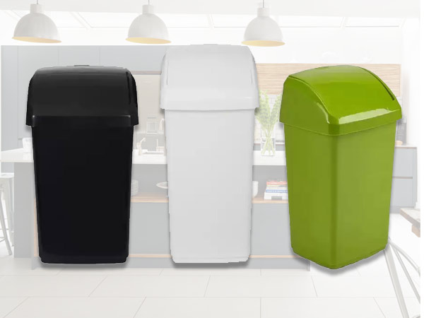 kitchen plastic bins