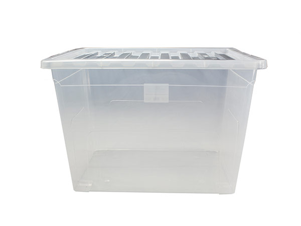 large plastic boxes