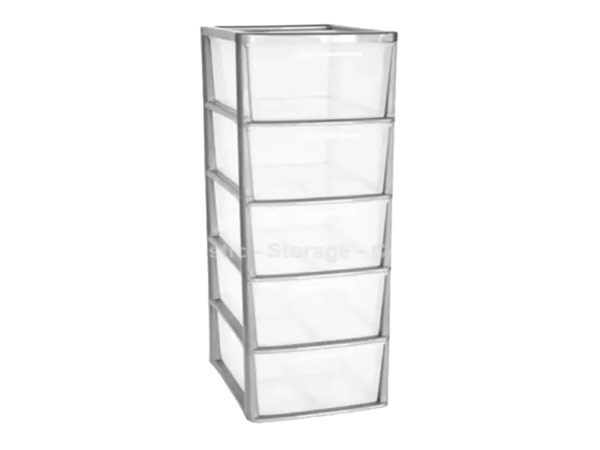 plastic storage towers